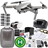 DJI Mavic Pro Platinum Collapsible Quadcopter EVERYTHING YOU NEED Starter Bundle