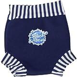 Happy Nappy Baby and Toddler Swim Diaper, Navy