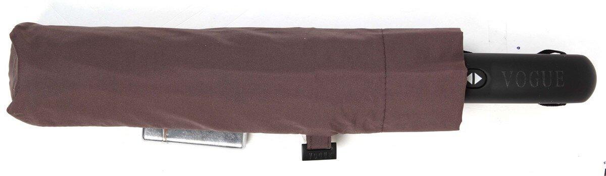Paraguas Golf Plegable con Abre y Cierra automático. Paraguas Vogue Burdeos Oscuro: Amazon.es: Equipaje