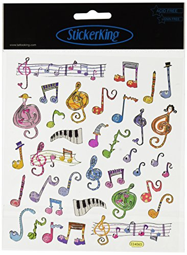 Scrapbooking Stickers Music Notes - 7