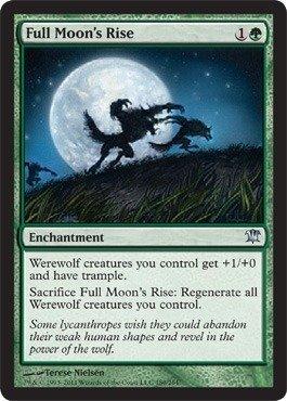 Magic: the Gathering - Full Moon's Rise - Innistrad (Magic Cards Full Deck)