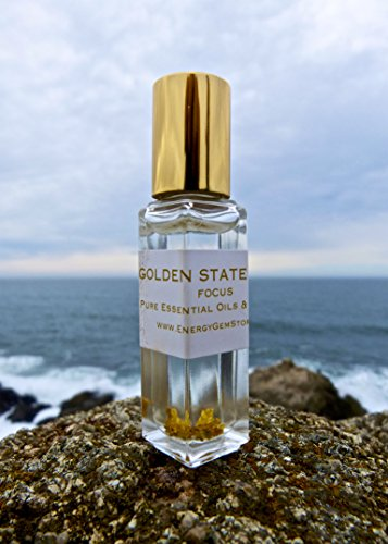 Golden State Tonic  Frankincense Oil With 24K Gold  Boost Your Mental Clarity And Concentration  Benefits All The Systems Operating In The Body  Focus