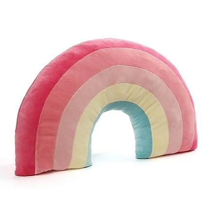 Amazon.com: Gund arco iris almohada de peluche de juguete de ...