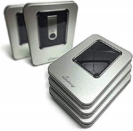 MediaRange Caja de Almacenamiento de Aluminio Plata BOX901 para ...