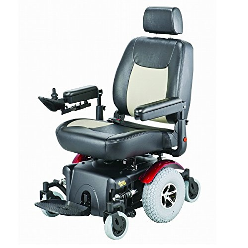 - Merits P327 Vision Super Bariatric Power Wheelchair Electric Wheelchair - Heavy Duty