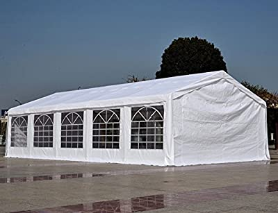 Quictent 13x26/16x32/20x26/20x32/20x40 Heavy Duty Outdoor Gazebo Party Wedding Tent Canopy Carport Shelter with Sidewalls