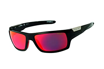 ONeill Mens Sports wrap Around Polarized Sunglasses Gloss Black 62 mm