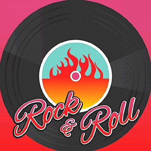 Rock Beverage Napkins - Classic 50's Rock & Roll Party Beverage Napkins (48)