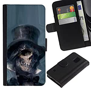 All Phone Most Case / Oferta Especial Cáscara Funda de cuero Monedero Cubierta de proteccion Caso / Wallet Case for Samsung Galaxy S5 V SM-G900 // Lincoln Abraham President Dead