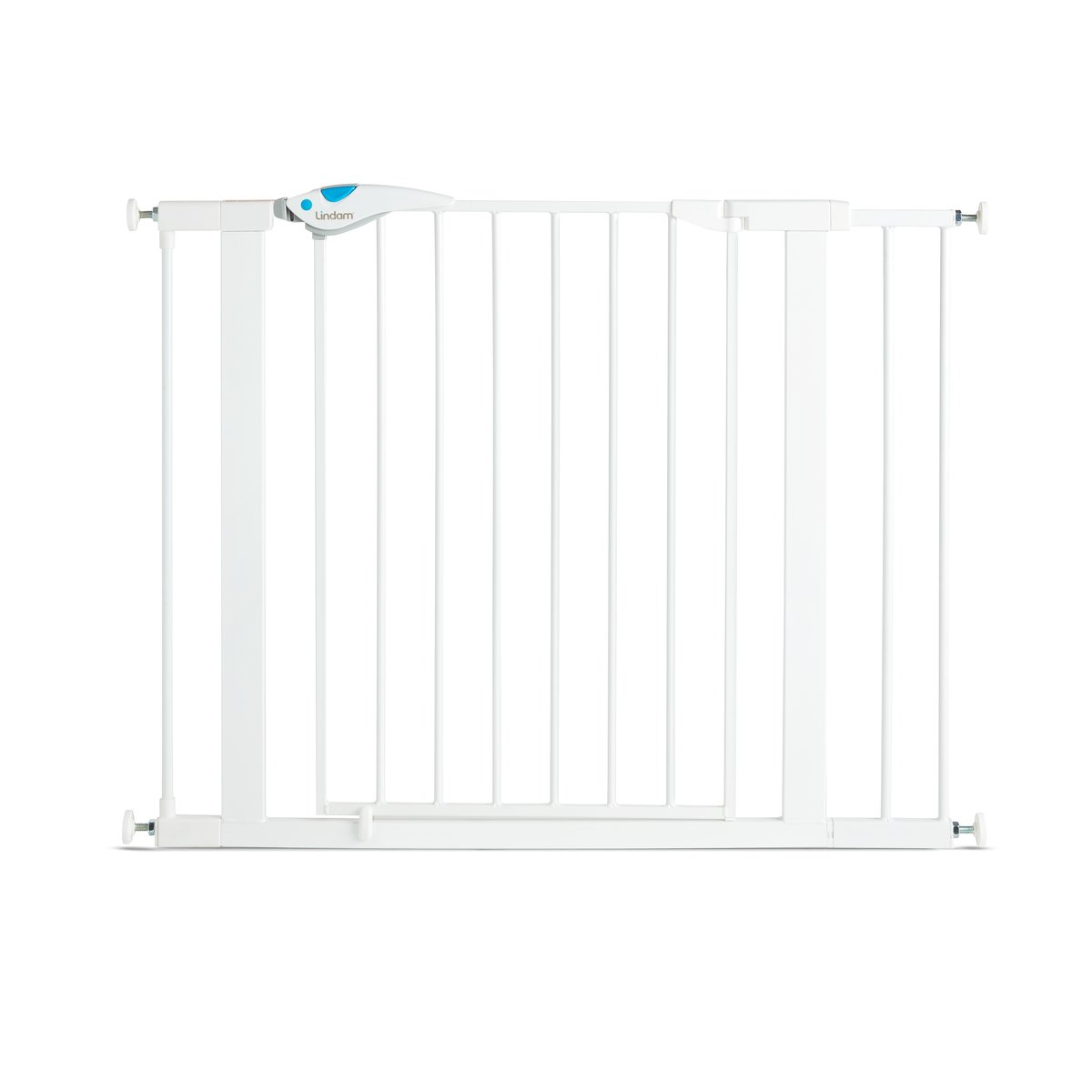 Lindam Easy Fit Plus Deluxe Pressure Fit Safety Gate - 76-82 cm, White 051298