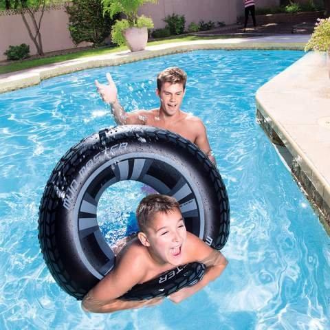 C&C Flotador Hinchable Rueda pneomatico 91 cm Playa Piscina Idea ...