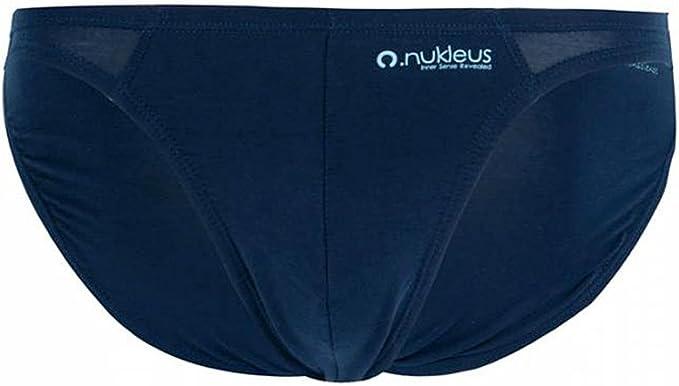 Nukleus 3X Mens Mini Brief Premium 100/% Organic Bamboo Extra Comfort Plain