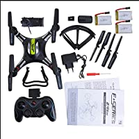 Annong JJRC H8C Drone 2.4G 4CH 6-Axis Gyro RC Quadcopter With 2MP HD Camera RC Drone FPV RTF RC Explorer + 3PCS 7.4V 500mAh Drone Batteries