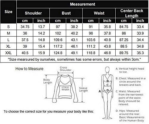 Beyove Women's Sleeveless Long Open Cardigan Vest Blazer Vests,XX-Large,Khaki by Beyove (Image #5)