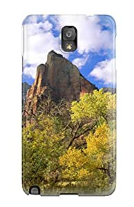 Three Patriarchs Zion National Park Fashion Tpu Note 3 Case Cover For Galaxy 3852115K47308210