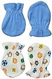 Always Baby Baby-Boys Sport 6 Piece Mittens Bundle, Sport, 0-3 Months