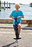 Flybar Foam Master Pogo Stick For Kids Boys & Girls Ages 9 & Up, 80 to 160 Lbs - Fun Quality Pogostick By The Original Pogo Stick Company, Black/Silver