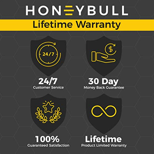 Knee Pads (1 Pair) HoneyBull Protective Knee Pads for Work with Foam Padding (Waterproof & Flame Retardant) Lightweight - Gardening, Home Improvement, Construction, Concrete, and More! by HONEYBULL (Image #6)
