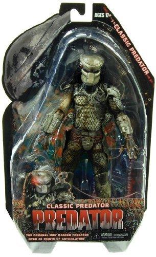NECA Predators 2010 Movie Series 3 Action Figure Classic Predator Masked