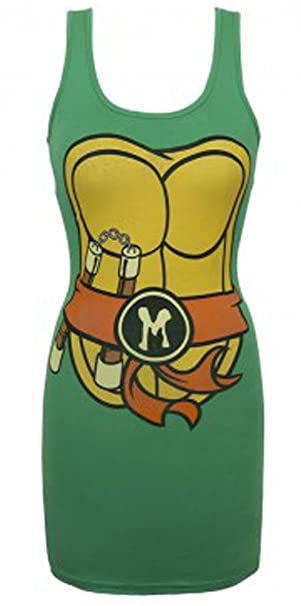 Teenage Mutant Ninja Turtles TMNT de la Mujer Vestido para ...