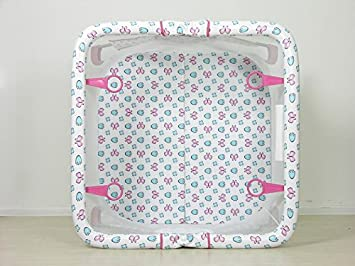 Polini Kids 1357-2 101118364 color rosa Parque infantil port/átil y plegable