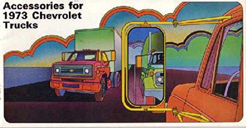 - 1973 Chevrolet Truck Accessories Sales Brochure Literature Book Specification