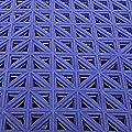 VinTile Modular Interlocking Cushion Floor Tiles - Mat Non-Slip with Drainage Holes for Pool Shower Locker-Room Sauna Bathroom Deck Patio Garage Wet Area Matting
