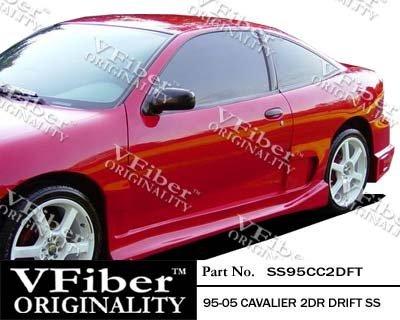1995-2005 Chevrolet Cavalier 2dr Body Kit Drift Side Skirt (Vfiber Drift)