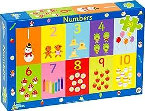 Little Wigwam - Puzzle de Números (30 piezas)
