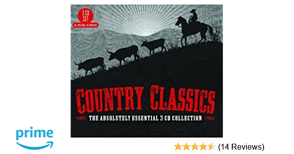 VARIOUS ARTISTS - Country Classics: The Absolutely Essential 3CD Col - Amazon.com Music