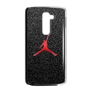 LG G2 Cell Phone Case Black Jordan logo BSP Cell Phone Case Back Personalized