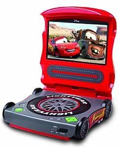 amazoncom starlite disney cars c7200pd 7 inch portable dvd player red electronics