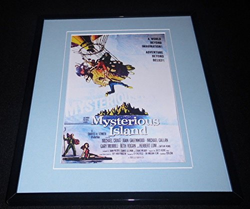 Mysterious Island Framed 8x10 Repro Poster Display Michael Craig Joan ()