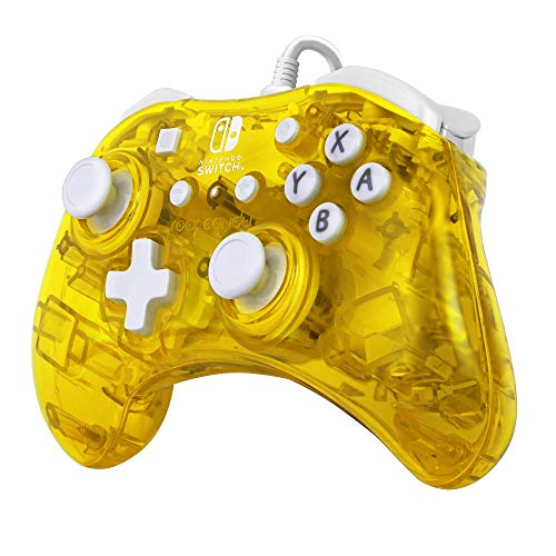 PDP Rock Candy Mini Wired Controller for Nintendo Switch, Pineapple Pop, 500-181-NA-YL - Nintendo Switch