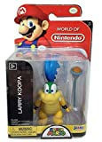 World of Nintendo Super Mario Larry Koopa 2.5' Mini Figure 1-5