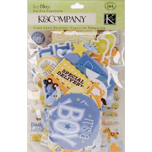 Price comparison product image K&Company Baby Boy Diecuts