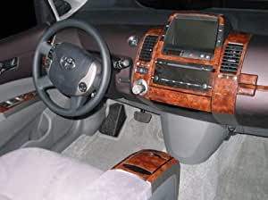 Amazon Com Toyota Prius Interior Burl Wood Dash Trim Kit