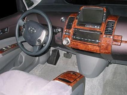 Amazon.com: Toyota PRIUS INTERIOR BURL WOOD DASH TRIM KIT SET 2004 ...
