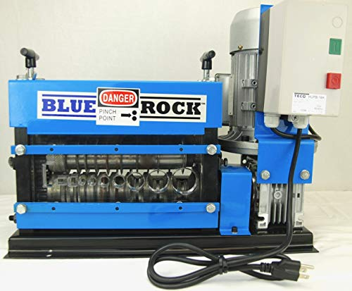 Scrap Copper Wire - BLUEROCK Tools Model MWS-808PMO Wire Stripping Machine Copper Cable Stripper