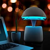 Multipurepose Creative Bedroom Living Room Bedside Table A LA Magic Lamp Bluetooth Speakers Intelligent Alarm Clock Perfect Birthday Valentine's Day Gift to Boyfriend or Girlfriend