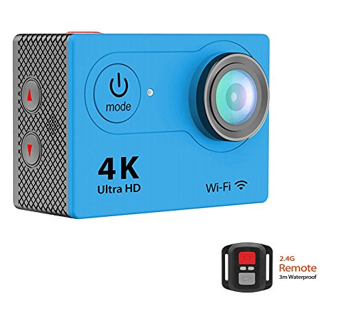 EKEN H9R Action Camera Ultra HD 4K WiFi 1080P/60fps 2.0 LCD 170° Lens Helmet Cam Waterproof Camera