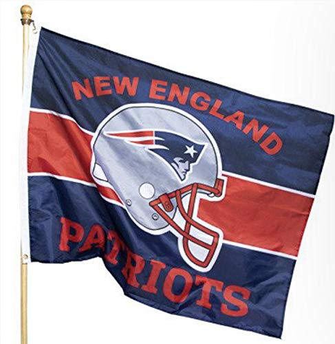 New England Patriots Pride Flag 36 x 47 -