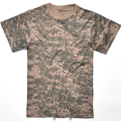 Rothco T-Shirt, Acu Digital Camo, X-Large Acu Digital Camouflage T-shirt