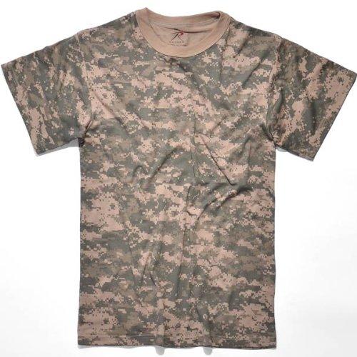 Rothco T-Shirt, Acu Digital Camo, (Military Acu Digital Camo)
