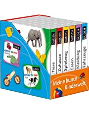 Duden 12+: Kennst du das? Meine bunte Kinderwelt (Würfel): 6 Mini-Bücher