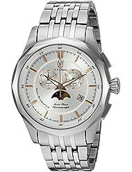 S. Coifman Mens Bracelet Swiss Quartz Stainless Steel Watch, Color:Silver-Toned (Model: SC0247)