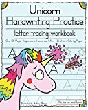 Unicorn Handwriting Practice: Letter Tracing