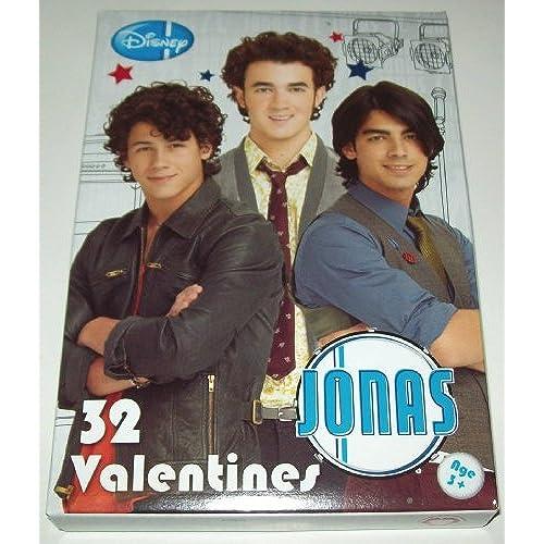 32 Jonas Brothers Valentine Cards Sales
