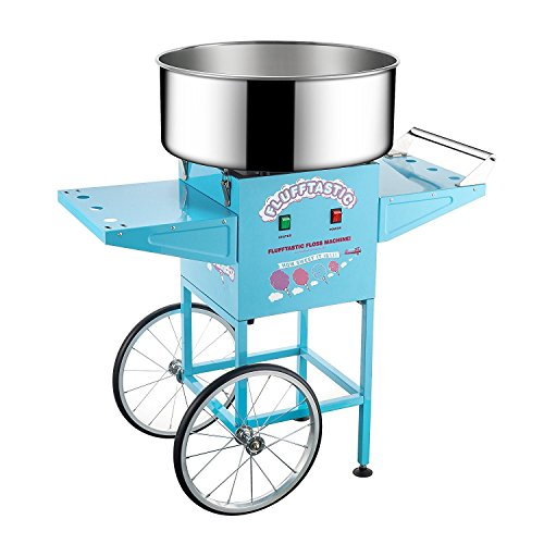 6315 Great Northern Popcorn Flufftastic Cotton Candy Machine Floss Maker With Cart (Cotton Candy Maker Nostalgia)