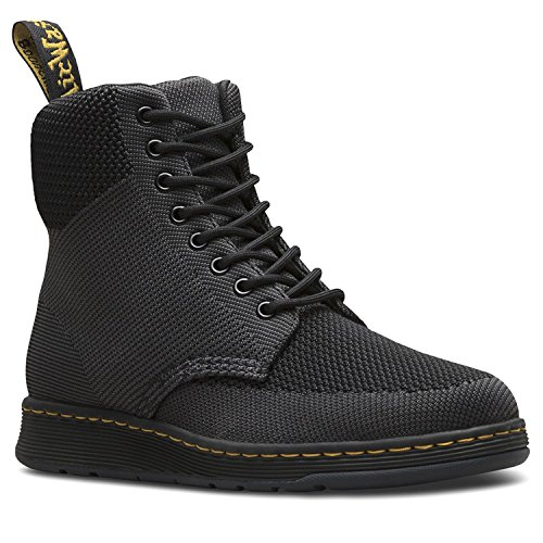 Dr. Martens Rigal Knit Fashion Laars Zwart Antraciet